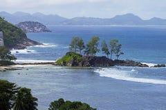 Les Seychelles, île de Mahe Images stock