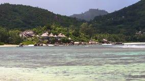 Les Seychelles Baie Lazare Image libre de droits