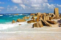 Les Seychelles uniques Image libre de droits