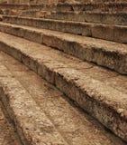 Les sièges du théâtre du grec ancien? Image libre de droits