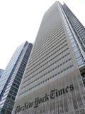 Les sièges sociaux de ` de New York Times à Manhattan Images stock