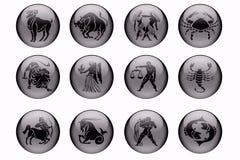 les signes du zodiaque Photos libres de droits