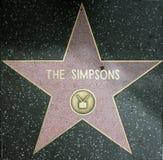 Les simpsons Photos stock