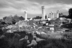 Les sites occidentaux du vieux palais d'été Photos libres de droits