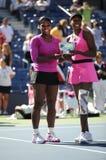 Les soeurs de Williams aux USA ouvrent 2009 (20) Images stock