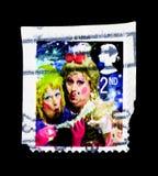 Les soeurs laides, Noël 2008 - pantomime le serie de dames, vers 2008 Photos libres de droits