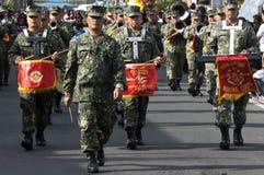 Les soldats de marine Images stock