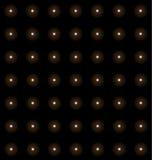 Les soleils de milliers, modèle périodique d'étoiles, fond sans couture de géants rouges illustration stock