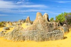 Les sommets abandonnent en parc national de Nambung - Cervantes photos libres de droits