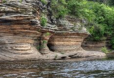 Les sorcières Gulch est une attraction cachée dans des vallons du Wisconsin et peut Photo stock