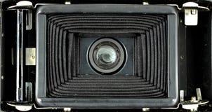 Les soufflets d'un format moyen filment l'appareil-photo de pliage photo libre de droits