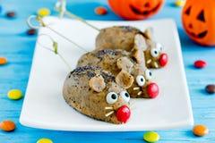 Les souris durcit - les festins drôles et fantasmagoriques de Halloween image libre de droits