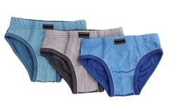 Les sous-vêtements des enfants ont isolé Photo stock