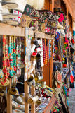 les souvenirs lancent sur le marché à Tbilisi, la Géorgie Photographie stock