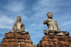 Les statues de Bouddha Photographie stock