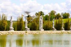 Les statues de Bouddha Photo stock