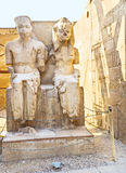 Les statues ruinées Images libres de droits