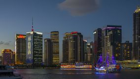 Les sud Bund de Changhaï image stock