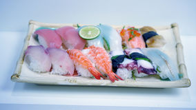 Les sushi frais Photos stock