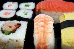 Les sushi se ferment vers le haut Photos libres de droits
