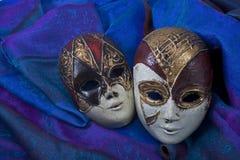 Les symboles du carnaval Photographie stock libre de droits