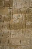 Les symboles signe des chiffres des pharaons en Egypte, le mur dans Luxo Image libre de droits