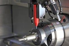 Les systèmes et la surface d'inspection dimensionnels finissent en métal Photo stock
