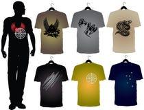 Les T-shirts des hommes Photographie stock libre de droits
