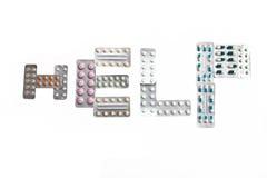 Les tablettes emballées Photos libres de droits