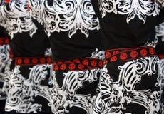 Les tailles du danseur japonais de festival Images stock