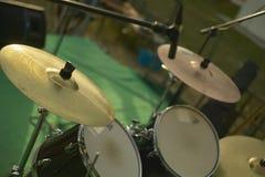 Les tambours Photos stock