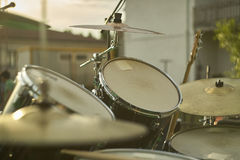 Les tambours Photographie stock