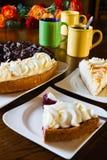 Les tartes de Limburgian se sont préparées à une réception Photos libres de droits
