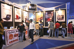 Les TCI justes dans Kolkata. Photographie stock
