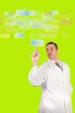 Les technologies innovatrices les plus neuves Images libres de droits