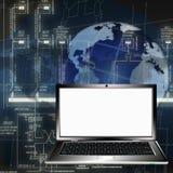 Les technologies les plus neuves en concevant la sphère Images stock