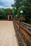 Les temples bouddhistes de tour de cloche dans la province Loei Photos libres de droits