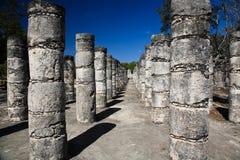 Les temples de chichen le temple d'itza Photographie stock libre de droits