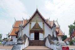 Les temples thaïlandais du nord Image libre de droits