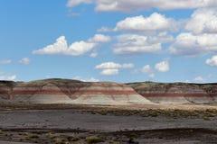 Les tepees - Forest National Park pétrifié Photos libres de droits