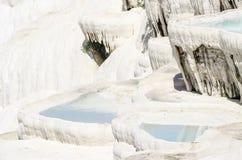 Les terrasses de Pamukkale Image libre de droits