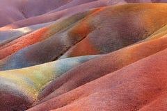 Les Terres des Sept Couleurs Stock Photos