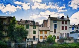 Les Thermes южная Франция оси стоковое фото rf