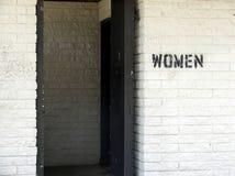 Les toilettes des femmes Images libres de droits