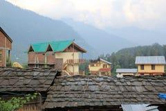 Les toits antiques Photo libre de droits