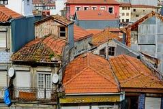 Les toits de la vieille ville Porto, Portugal Photos libres de droits