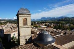 Les toits de la ville de Crest Royalty Free Stock Photography
