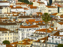 Les toits du Portugal image stock
