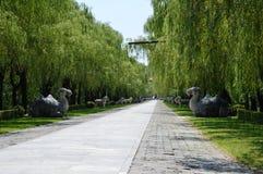 Les tombeaux de Ming Image stock