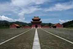 Les tombeaux orientaux de Qing Images libres de droits